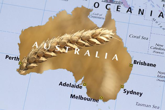 A map of Australia