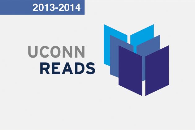 UConn reads logo
