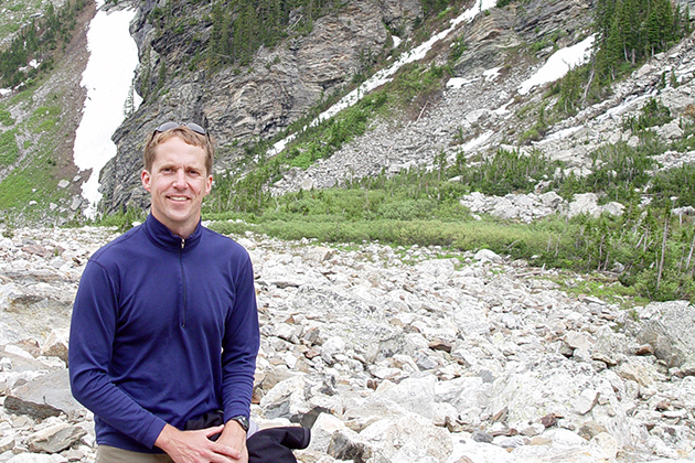 David Lund joins the Department of Marine Sciences this fall from the University of Michigan. His research focuses on the ocean's role in climate change. (Photo courtesy of CLAS)