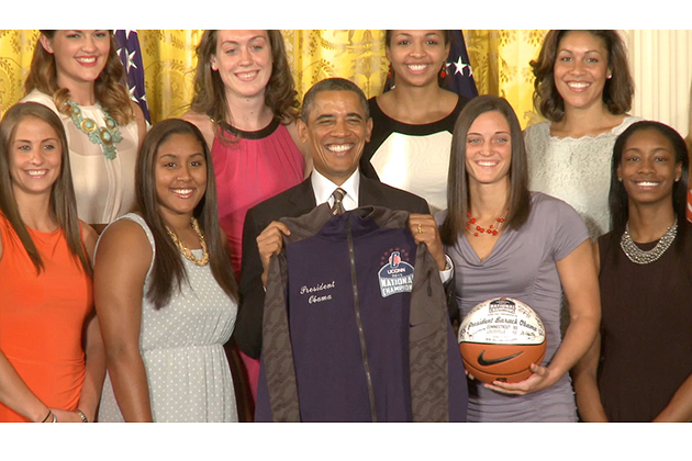 Obama UConn with white background