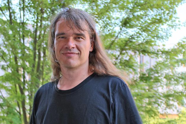 Ralf Schiffler, associate professor of mathematics, received a 2013 Faculty Early Career Development (CAREER) Award from the National Science Foundation. (Bri Diaz/UConn Photo)