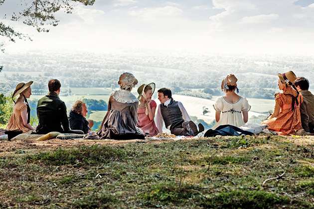 Picnic on Box Hill from Jane Austen's Emma.
