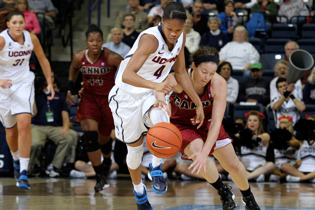 Moriah Jefferson '16 (CLAS) was selected for the U18 and U19 teams. (Bob Stowell '70 (CLAS) for UConn)