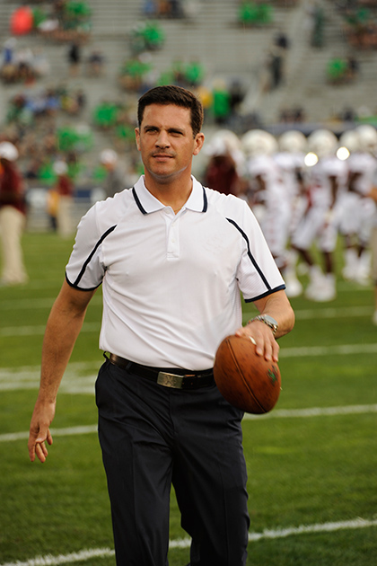 Bob Diaco will join UConn from Notre Dame, where he is currently defensive coordinator.