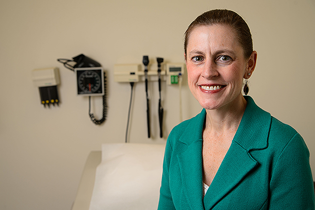 Clinical professor Ivy Alexander says advanced practice nurses are part of the solution to the health care access crisis. (Peter Morenus/UConn Photo)