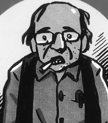 Self-portrait, by Art Spiegelman.