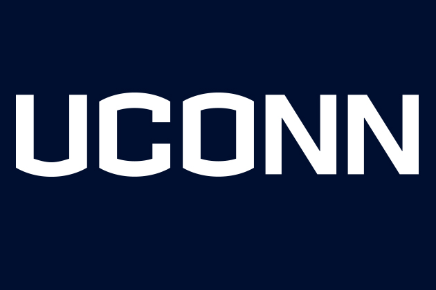 UConn wordmark.