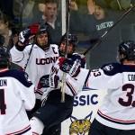 Huskies to Host Robert Morris in Atlantic Hockey Quarterfinal