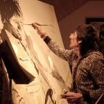 Art of Stones' Ronnie Wood Rolls into Benton Museum