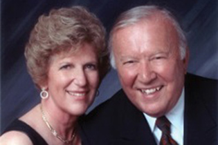 Carole and Ray '56 (CLAS) Neag, the University's most generous benefactors.