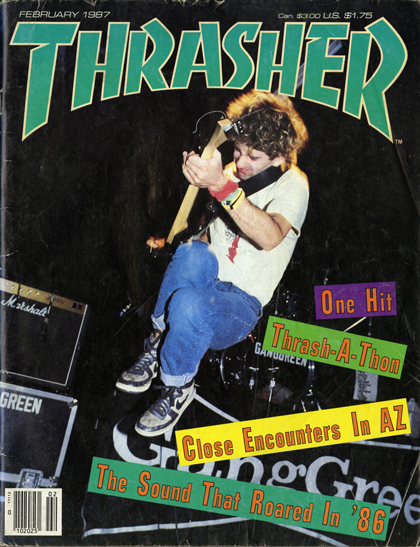 Out of Frame - Thrasher Magazine Image, Feb. 1987