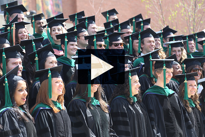 Click the image above to view a photo gallery of the UConn Health 2014 Commencement.