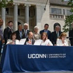 Agreements Signed for New UConn Hartford Campus