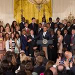 UConn Basketball Bandwagon Travels to White House