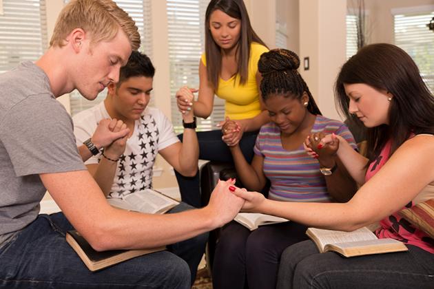 A prayer meeting. (iStock photo)