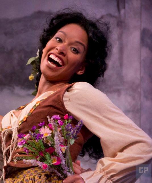 "Khetanya Henderson '14 MFA as Dorcas in ""The Winter's Tale."" (Courtesy of CRT)"