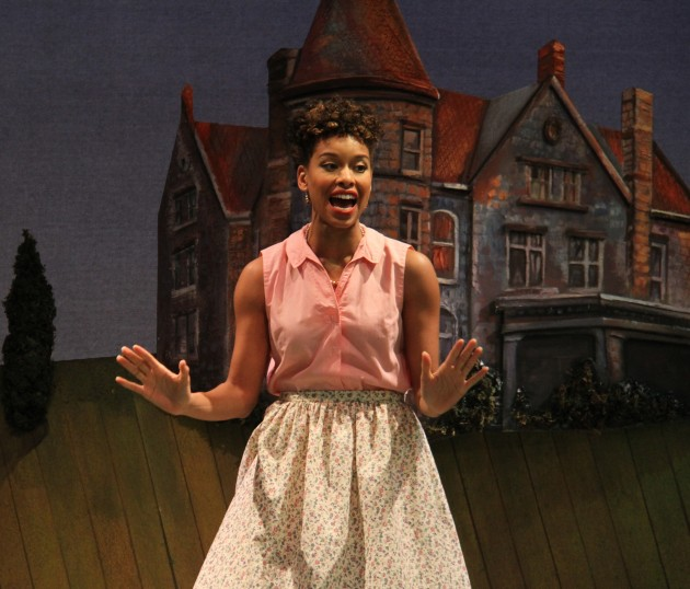 """Khetanya Henderson '14 MFA as Ursula in """"Much Ado About Nothing."""" (Courtesy of CRT)"""