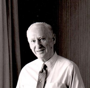 Leonid Azaroff, an internationally known crystallographer and founding director of UConn's Institute of Materials Science. (UConn File Photo)