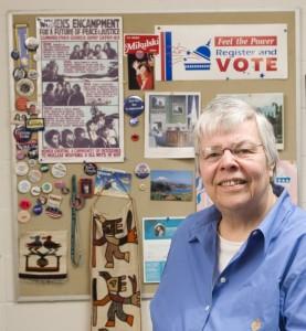 Nancy Humphreys, professor and former dean of the School of Social Work. (Peter Morenus/UConn File Photo)