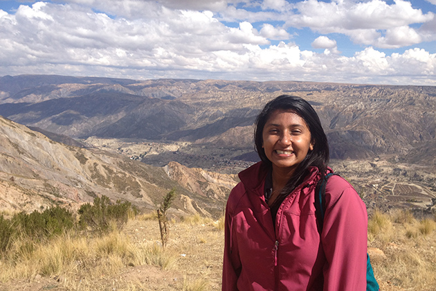 Graduate student Zareen Thomas, a doctoral candidate in anthropology, is currently in Colombia, studying the relationship between community, youth organizations, and marginalized urban youth, thanks to a Fulbright fellowship.