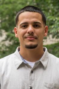 Jeremy Figueroa-Ortiz,an aspiring dentist, is a graduate of the Health Career Opportunities Program. (Tina Encarnacion/UConn Health Photo)