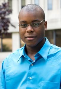 Phil Montgomery, an aspiring physician, is a graduate of the Health Career Opportunities Program. (Tina Encarnacion/UConn Health Photo)