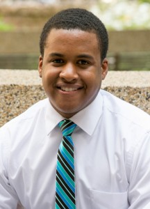Julian Rose, an aspiring researcher, is a graduate of the Health Career Opportunities Program. (Tina Encarnacion/UConn Health Photo)