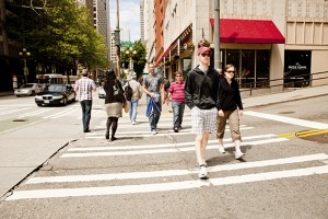 The 'walkability' of cities can have long-term health benefits. (istock photo)