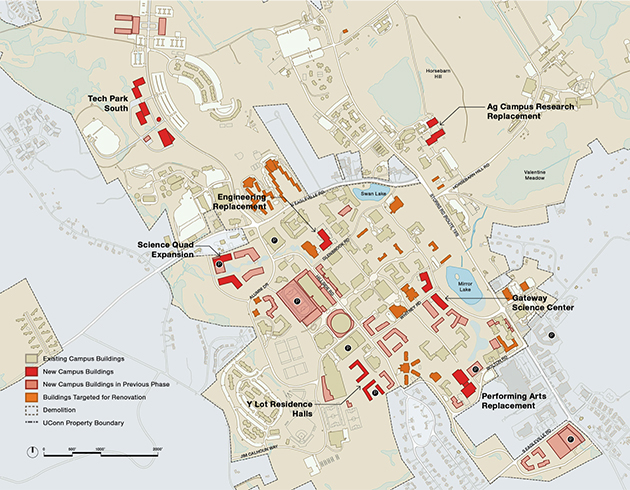 Master Plan Presents 20Year Vision For Storrs Campus