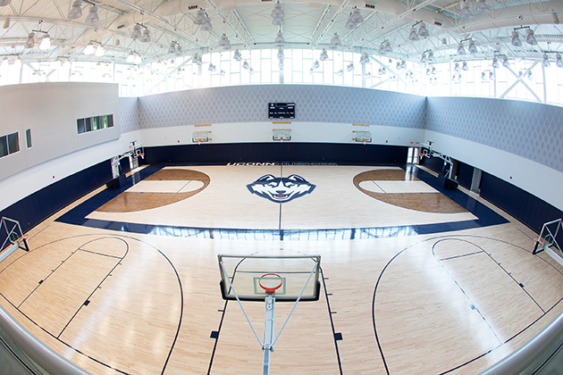 UConn Basketball Champions Center Named for Longtime Supporters