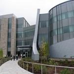 The Jackson Laboratory for Genomic Medicine, Oct. 2, 2014. (Tina Encarnacion/UConn Health Photo)