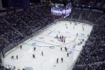 UConn hockey plays Boston College in November 2014. (UConn File Photo)