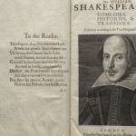 Benton Museum to Display Shakespeare's 'First Folio' in  2016