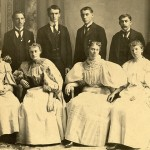 Storrs Agricultural College, Class of 1896, showing six men and four women. (University of Connecticut Photograph Collection, Archives & Special Collections, University of Connecticut Libraries)