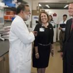 U.S. Sen. Blumenthal Visits UConn Health
