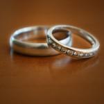 Wedding rings. (Sean Flynn/UConn Photo)