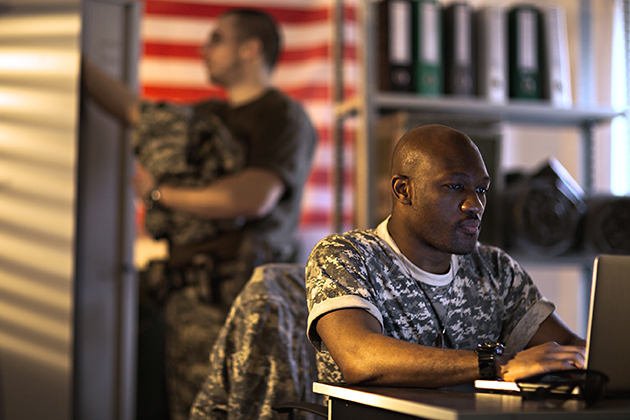 Veterans Live in More Diverse Neighborhoods than Civilian Counterparts