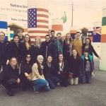 A group of students, faculty, and staff traveled in Paris for the UN climate summit, COP21. (Courtesy of UConn@COP21)