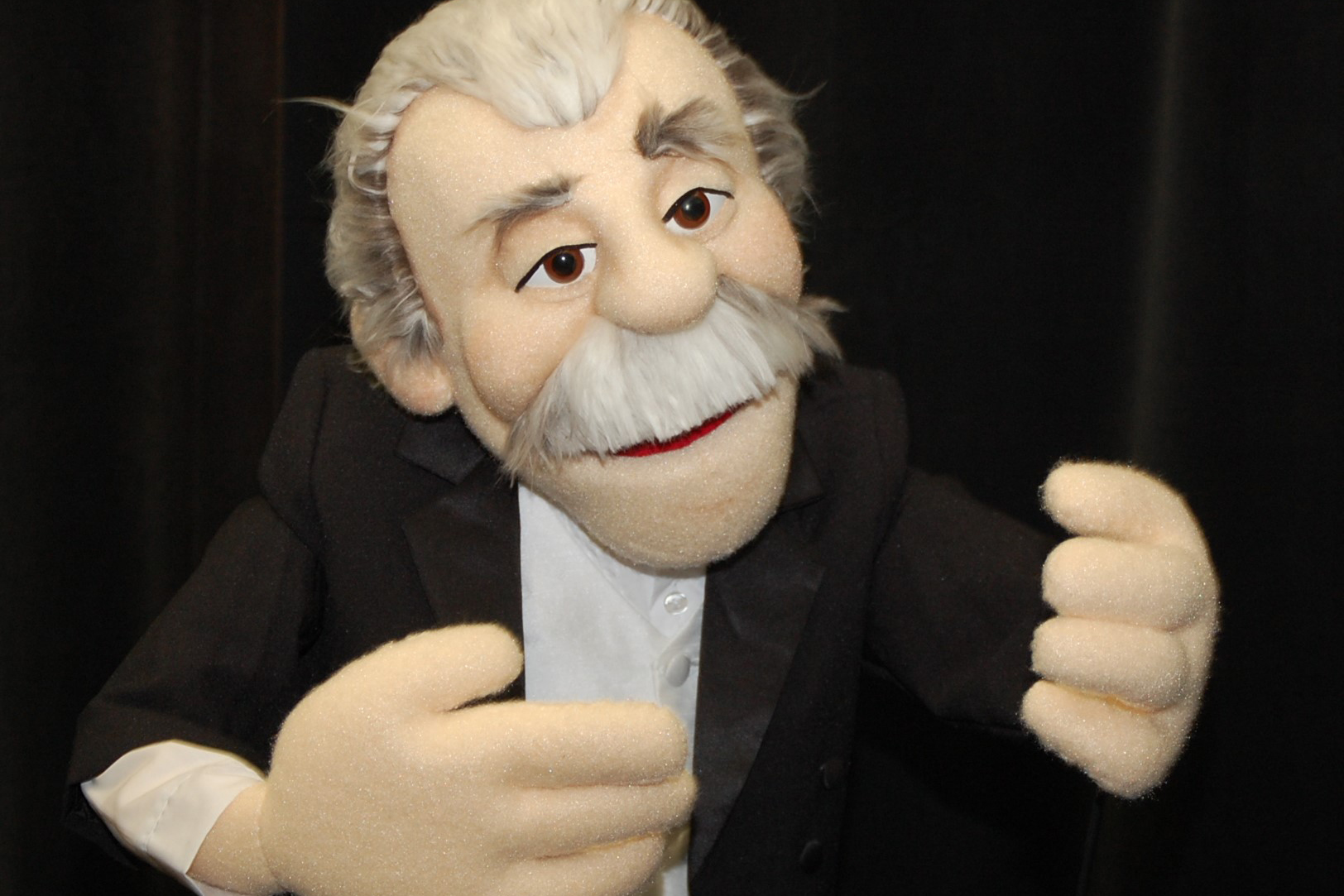 The Arthur Fiedler puppet. (Ken Best/UConn Photo)