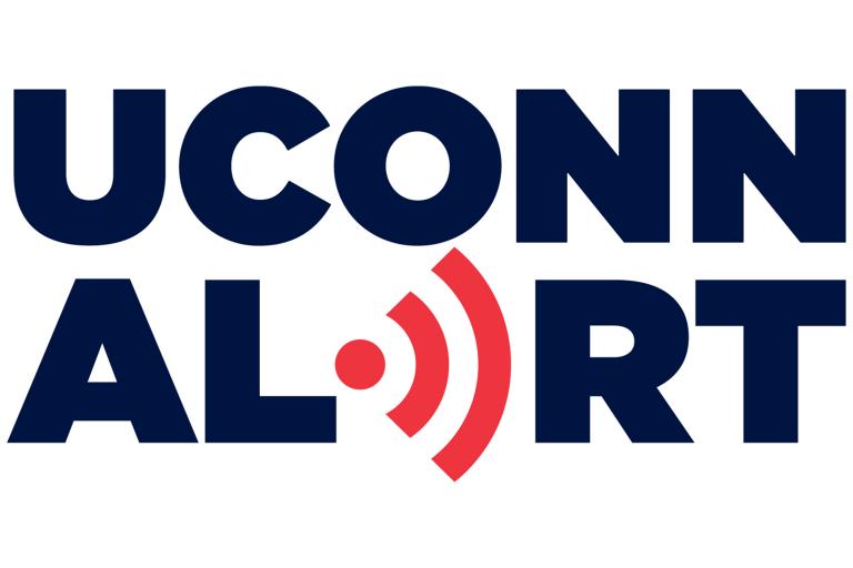 UConn Alert logo.