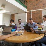 IBM Interns: Jason Barry on June 15, 2016. (Sean Flynn/UConn Photo)