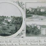 ViewsofOldandNewDorms_Connecticut Agricultural College