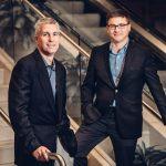 UConn management professors David Souder, left, and Greg Reilly. (Nathan Oldham/UConn Photo)
