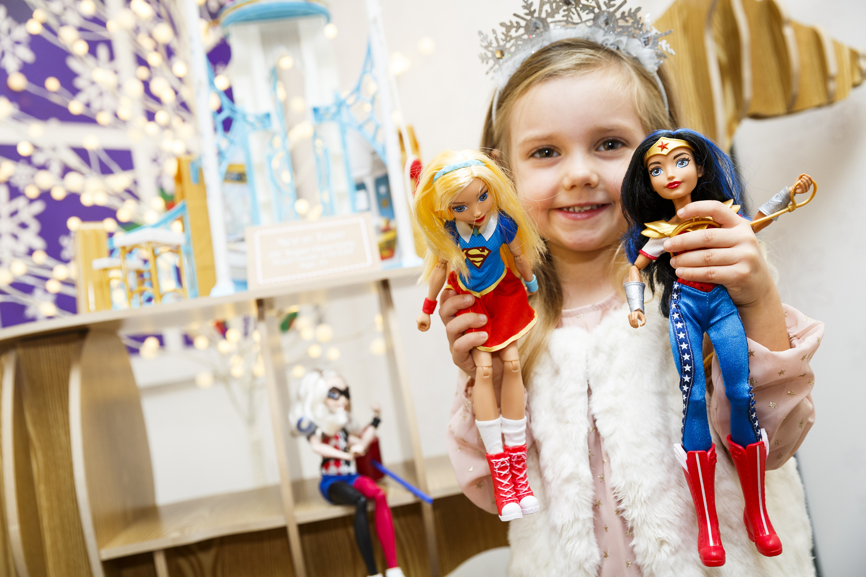 from barbie to superheroes the new femininity in dolls uconn today https today uconn edu 2017 12 from barbie superheroes new femininity dolls