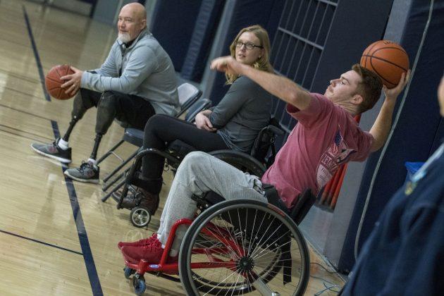 Swish! Wheelchair Basketball Takes the Court