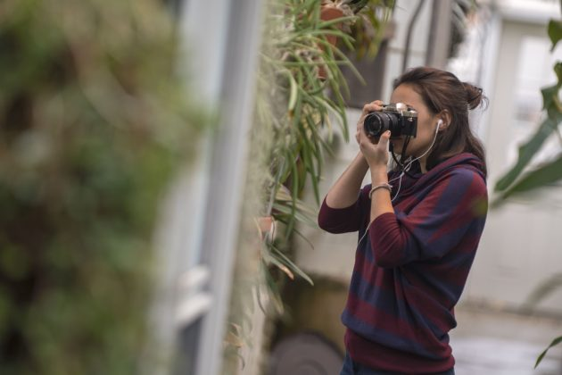 Photography Class Captures Greenhouse Effect