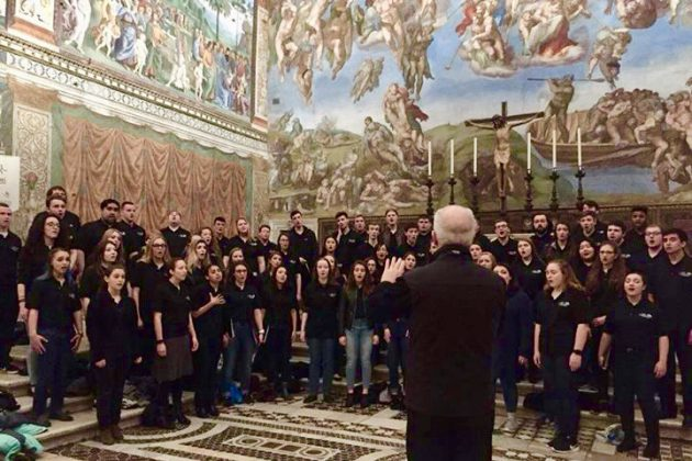 UConn Voices Serenade Michelangelo's Most Famous Painting