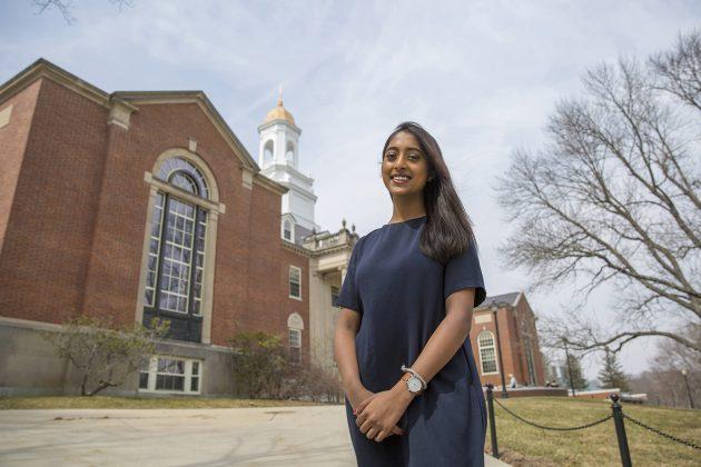 UConn Junior Wins Prestigious Truman Scholarship