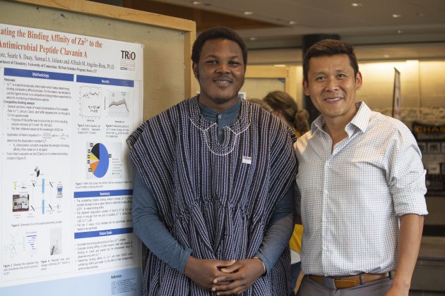 McNair Scholars Present Research at Annual Poster Exhibition