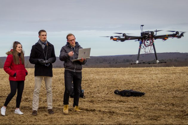 UConn-Sikorsky Team Engineers Autonomous Firefighting Drone